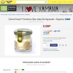 Crema Facial Y Contorno Ojos Jalea De Aguacate - Organico - $ 250.00 en MercadoLibre