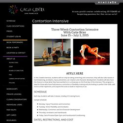 Contortion Intensive