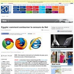 Couper l'Internet d'un pays comme l'Egypte prend 2 minutes
