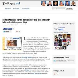 """Nathalie Kosciusko-Morizet """"sait comment faire"""" pour contourner"""