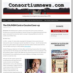 The CIA/MSM Contra-Cocaine Cover-up