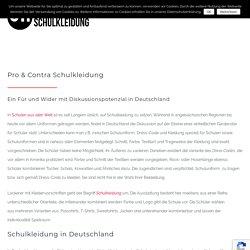 Pro und Contra Schulkleidung - UNICUM Schulkleidung
