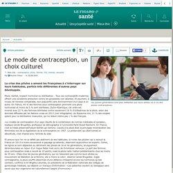 Le mode de contraception, un choix culturel