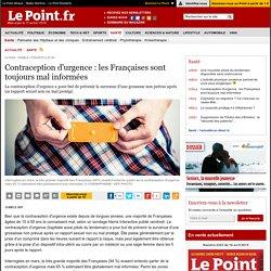 Contraception d'urgence : les Françaises sont toujours mal informées