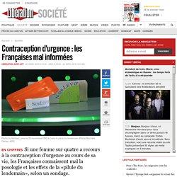 Contraception d'urgence: les Françaises mal informées
