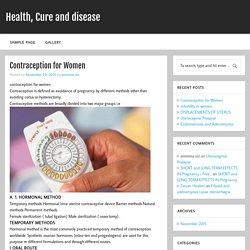 Contraception for Women
