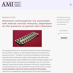 Hormonal contraceptives are associated with altered cervical immunity, dependent on the presence of genital tract infections — The American Microbiome Institute