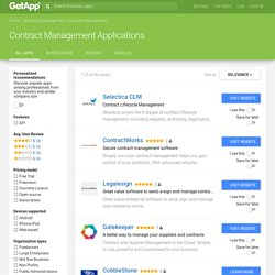 Best Contract Management Software Comparison