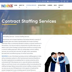 Temporary Staffing Services in India