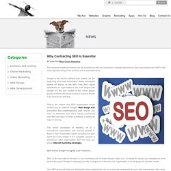 Why Contracting SEO Is Essential