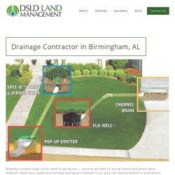 Drainage Contractor in Birmingham AL