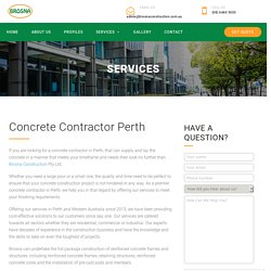 Concrete Contractor Perth - Brosna Construction