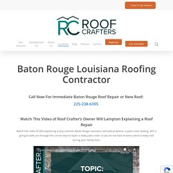 Baton Rouge Louisiana Roofing Services