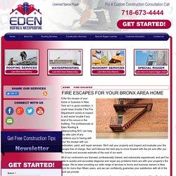 Fire Escape Contractor in the Bronx Area