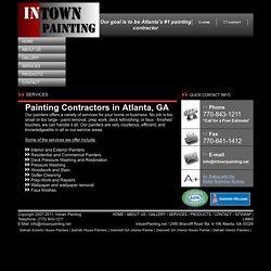 Paint Contractors in Atlanta GA