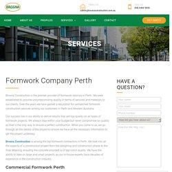 Formwork Contractors Company Perth - Brosna Construction