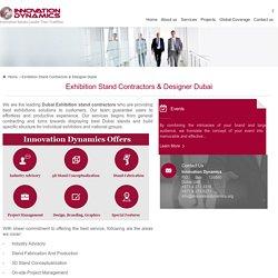 Exhibition Stand Contractors Dubai - Exhibition Stands Design Dubai