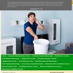 Plumbing Contractors, clogged, Basement Flooding, Drain Repair Plumbers: Best Plumbing Contractor Mississauga