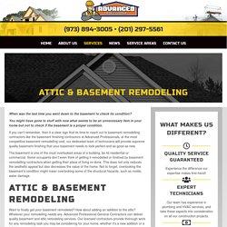 Attic & Basement Finishing Contractors