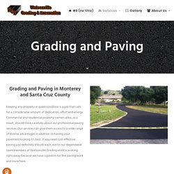 Find Out the best Residential Paving Contractors Santa Cruz CA