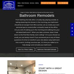Bathroom Remodeling Contractors Near Me in Westchester County, Dutchess County, Putnam County, Hudson Valley