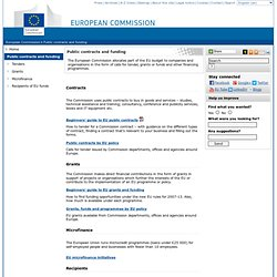 European Commission - Grants of the European Union