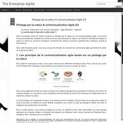 Pilotage par la valeur & contractualisation Agile 2/2