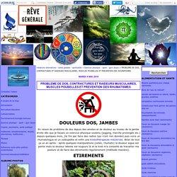 PROBLEME DE DOS, CONTRACTURES ET RAIDEURS MUSCULAIRES, MUSCLES POUBELLES ET PREVENTION DES RHUMATISMES - médecine alternatives - santé globale - spiritualité