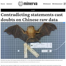 Contradicting statements cast doubts on Chinese raw data