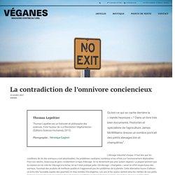 La contradiction de l'omnivore conciencieux – Véganes Magazine