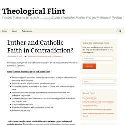 Luther and Catholic Faith in Contradiction?