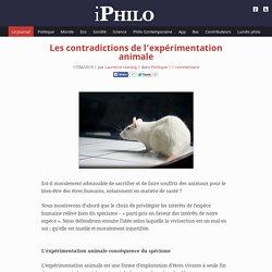 iPhilo – la philosophie en poche » Les contradictions de l'expérimentation animale
