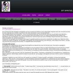 Messages contraignants - eftspirituel.com