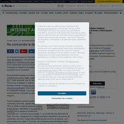Re-contraindre le design – InternetActu