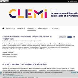 Le circuit de l'info : contraintes, complexité, vitesse et concurrence- CLEMI