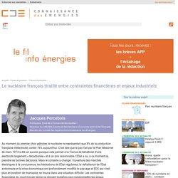 La situation d'EDF et du nucléaire français : entre contraintes financières et enjeux industriels