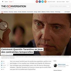 Comment Quentin Tarantino sejoue descontraintes temporelles