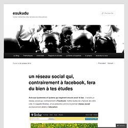 un réseau social qui, contrairement à facebook, fera du bien à tes études