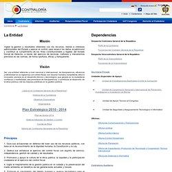 La Entidad - Contraloria General de la Republica de Colombia