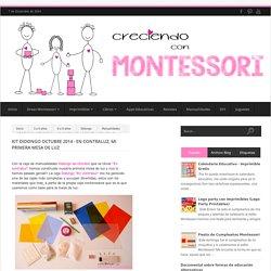 KIT DIDONGO OCTUBRE 2014 - EN CONTRALUZ, MI PRIMERA MESA DE LUZ - Creciendo con Montessori