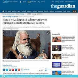 Here's what happens when you try to replicate climate contrarian papers