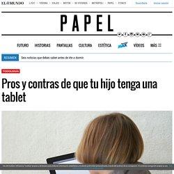 Pros y contras de que tu hijo tenga una tablet