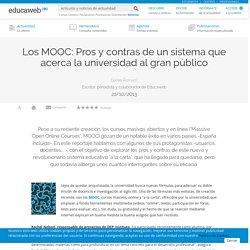 Los MOOC: Pros y contras del sistema.