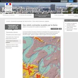 Des reliefs contrastés sculptés par la Seine - Atlas des paysages et des projets urbains des Hauts-de-Seine