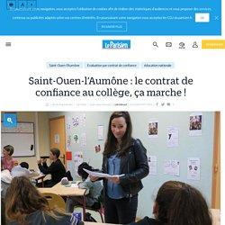 Saint-Ouen-l'Aumône : le contrat de confiance au collège, ça marche ! - Le Parisien