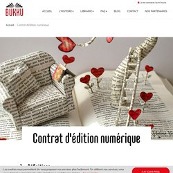 Contrat d'édition numérique
