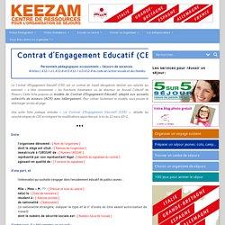 Modèle de Contrat d'Engagement Educatif, ou CEE l Keezam