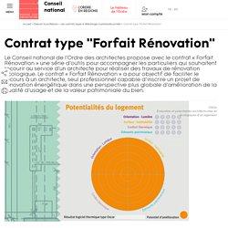 """Contrat type """"Forfait Rénovation"""""""