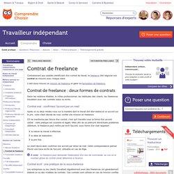 Contrat de freelance : les types de contrat de freelance