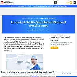 Le contrat Health Data Hub et Microsoft bientôt rompu